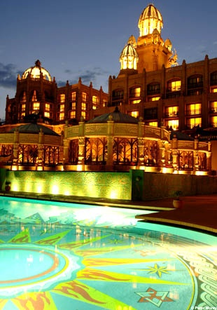 The Palace of the Lost City at Sun CIty in South Africa. A perfect vacation spot.