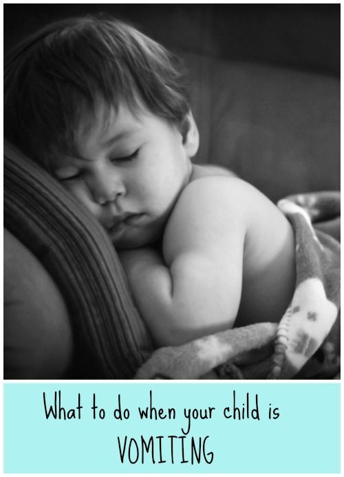 What to do when your baby or child is vomiting by Dr Orlena Kerek, paediatrician.