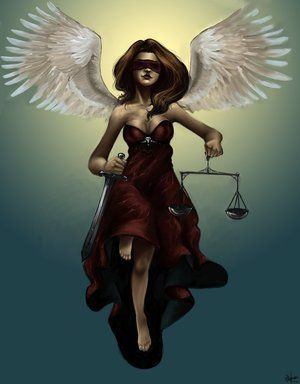 Themis  was the constant companion of Zeus, the Lord of the Gods. The couple gave birth to the Fates and seasons.
