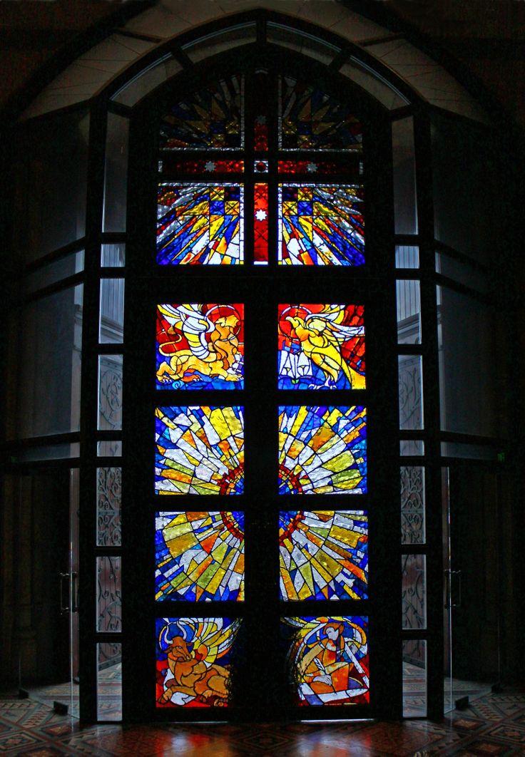 Processional Doors - by Janusz Kuzbicki St Paul's Cathedral, Melbourne Australia