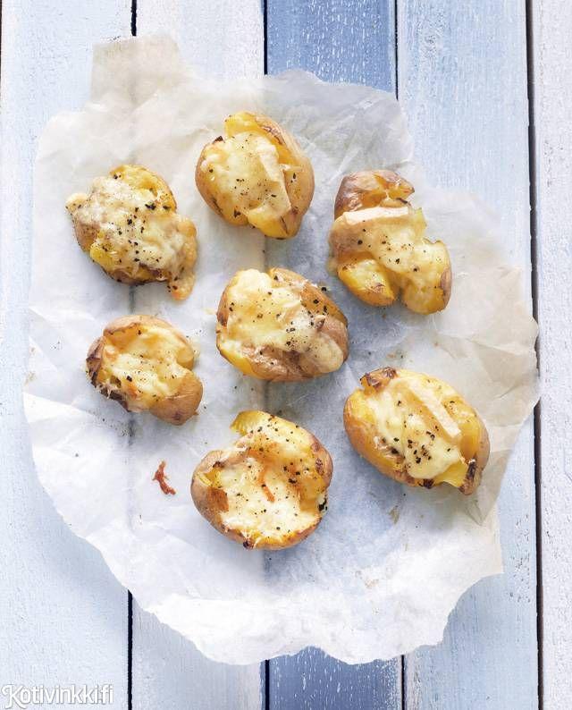 Murskatut uudet juustoperunat  Text: Marja Samuli Pic: Sanna Peurakoski #cheese #potato