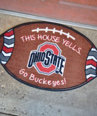 Ohio State Buckeyes Football Doormat