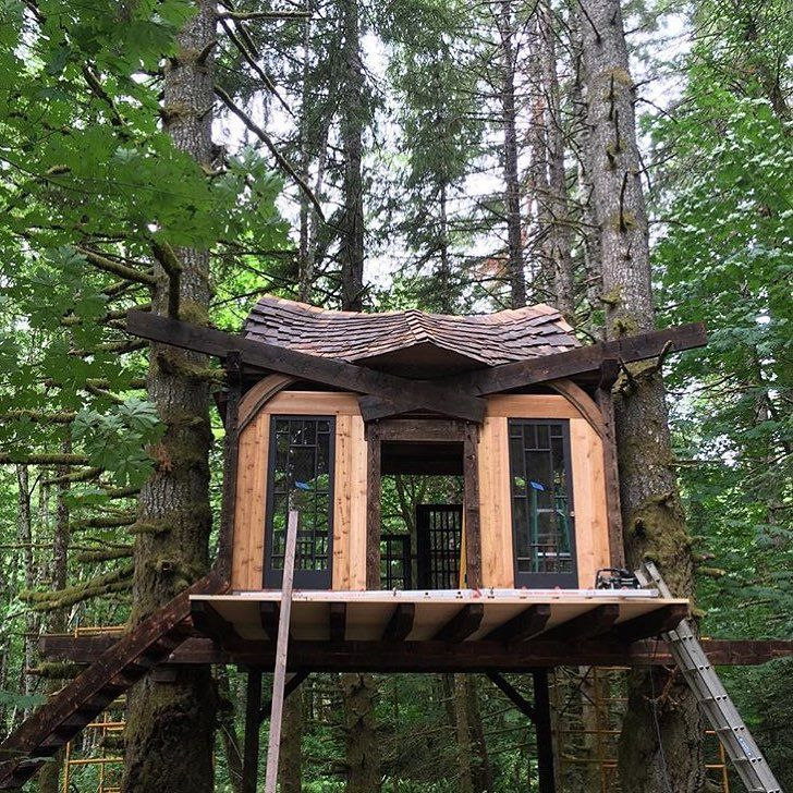 1561 best treehouse images on pinterest treehouse tree houses