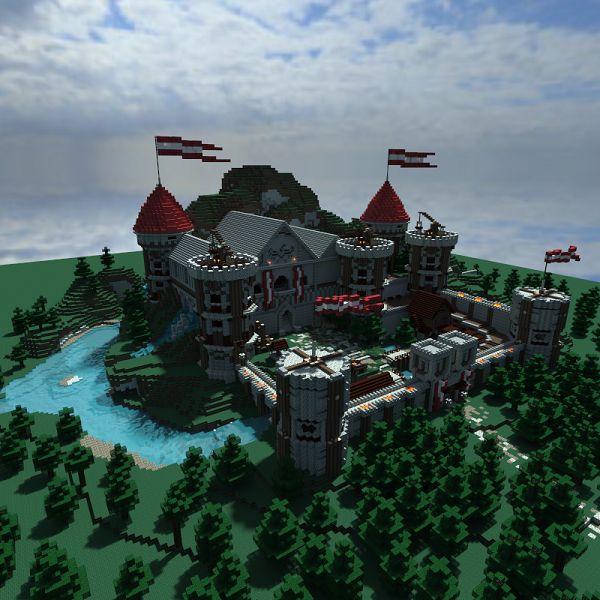 Minecraft Fort Redhawk