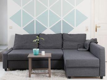 les 20 meilleures id es de la cat gorie mur g om trique sur pinterest art de mur g om trique. Black Bedroom Furniture Sets. Home Design Ideas