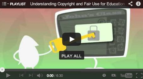 Learn about copyright and fair use for educators by watching this mini-film festival.