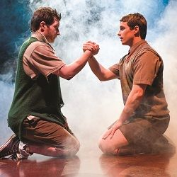 Blood Brothers in the West End - emotional and moving story, blood is thicker than water