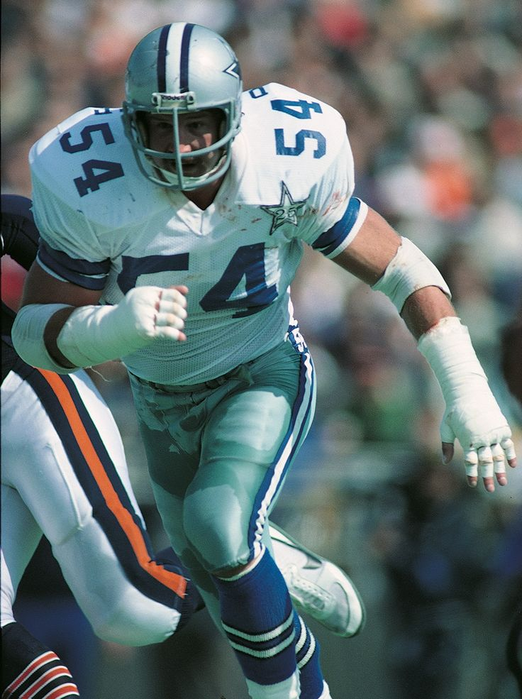 54 RANDY WHITE 1975-1988; INDUCTED IN DALLAS COWBOYS RING OF HONOR 1994
