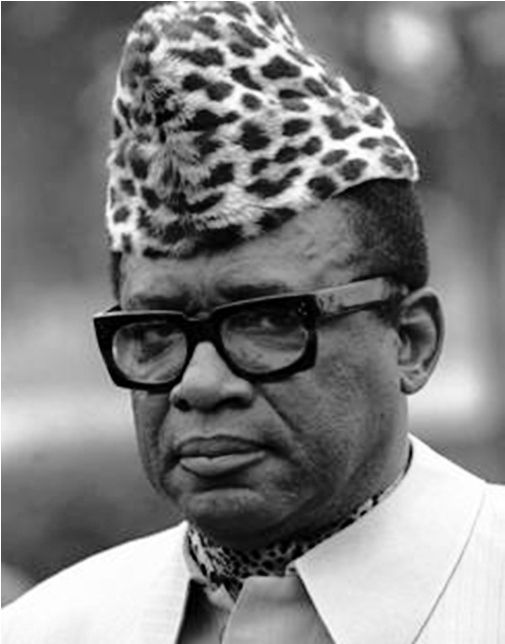 Mobutu Sese Seko, (born Joseph-Desiré Mobutu), former President of Republic of the Congo, which he had renamed Zaire. Supported by the US & Belgium, he formed an authoritarian regime, amassed vast personal wealth, & attempted to purge the country of all colonial influence. During the Congo Crisis, he was responsible for the death of Patrice Lumumba. He was notorious for corruption, nepotism, human rights violations, & the embezzlement of US$4-15B during his reign. He died in exile. R.I.P.