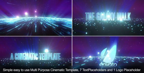 The Galaxy Walk-Cinematic Template