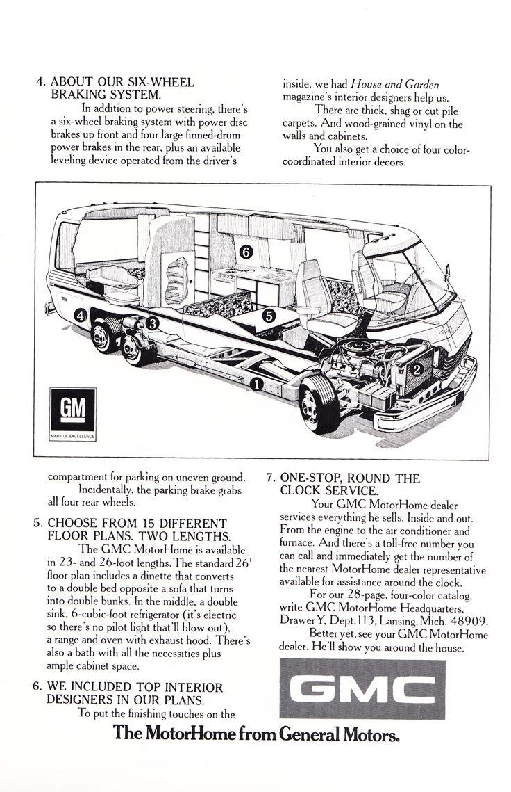1000 Ideas About Gmc Motorhome On Pinterest Motorhome
