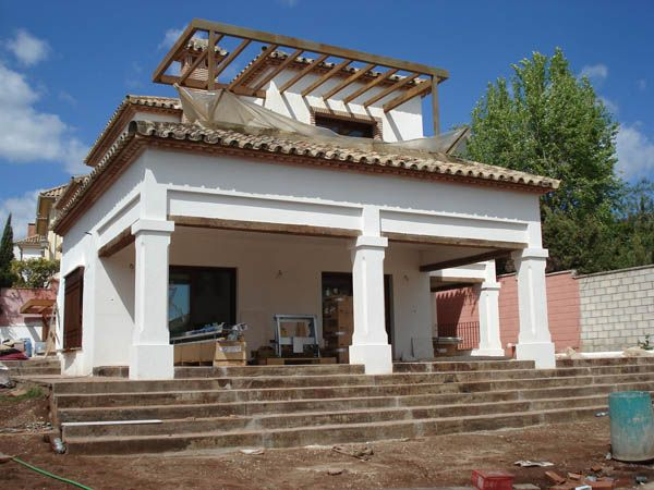 Chalet en una zona residencial de la sierra de Córdoba climatizado con geotermia por Geointegral http://www.geointegral.es/index.php/geotermia-residencial