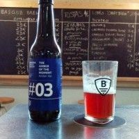 Bidassoa Basque Brewery The Amber of the Moment #03 Red Ale5.938 IBU      Bidassoa Basque Brewery  Descripción Comercial:  Bidassoa Basque Brewery The Amber of the Moment #03