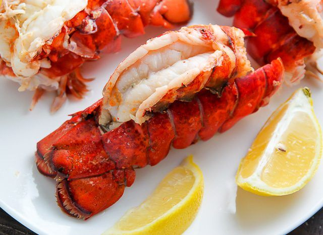 Learn how to make steamed lobster tails at home with this simple tutorial. Double this recipe as needed.