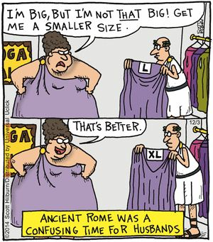 The Argyle Sweater Comic Strip, December 03, 2014 on GoComics.com