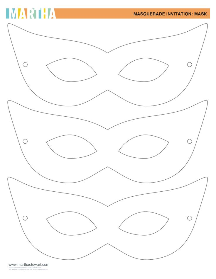 Mask Templates  PetitComingoutpolyCo