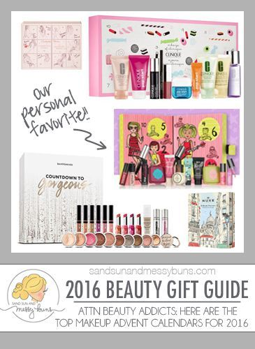 2016 Holiday Gift Guide: Let the countdown to Christmas begin with these fabulous makeup advent calendars for the beauty addicts on your list.