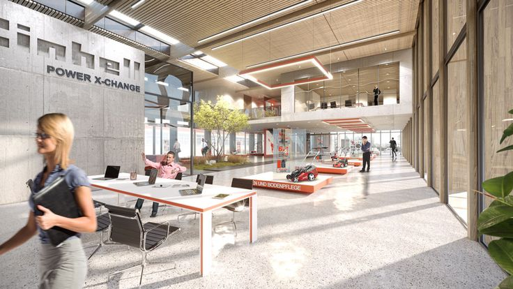Einhell interior 3D visualisation