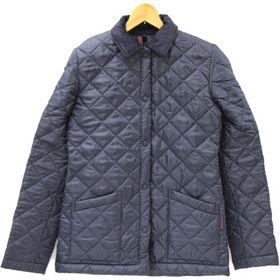 ラベンハム レディース キルティングジャケット  ネイビー EUサイズXS(約UK8)