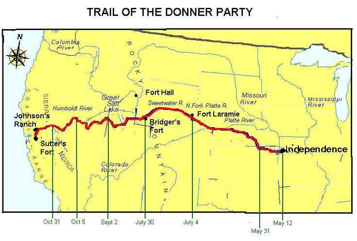 donner single guys 10 haunting details about the donner party's deadly journey  eighty-seven men,  not a single member of the reed family died,.