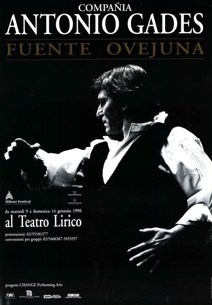1995/96 Compañia Antonio Gades – Fuente Ovejuna, Milano Festival, Teatro Lirico