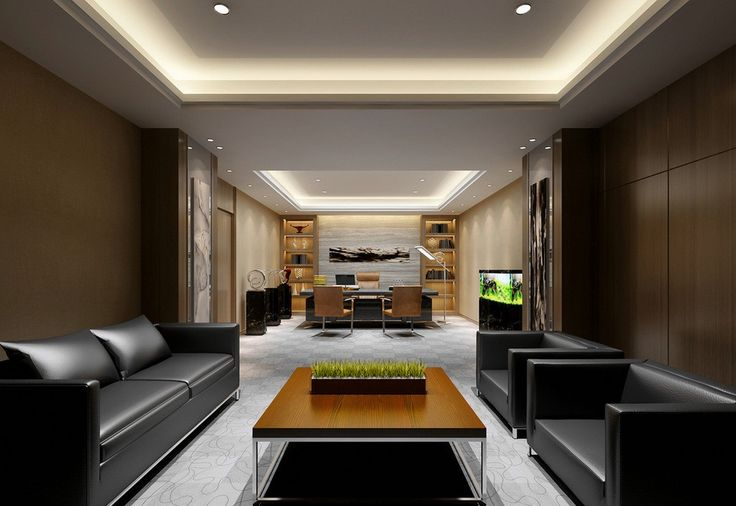 Modern CEO Office Design | ceo office with aquarium modern china ceo office interior design