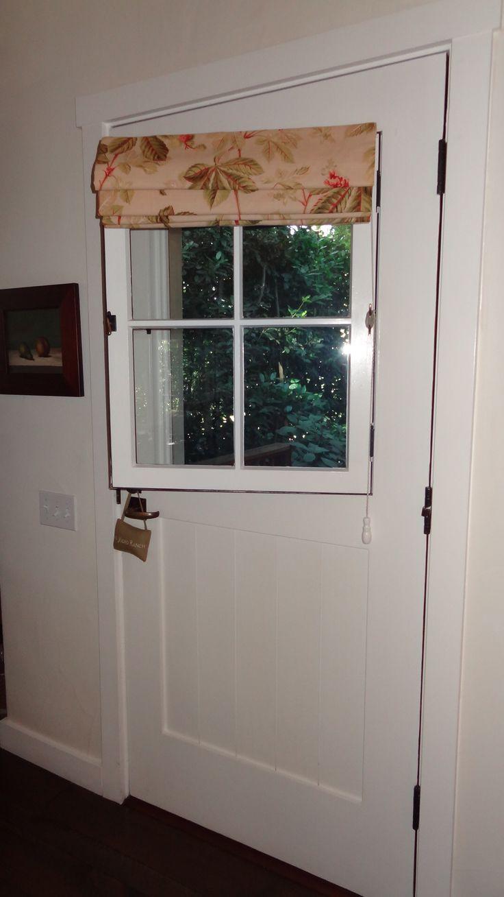 Door with window & screen