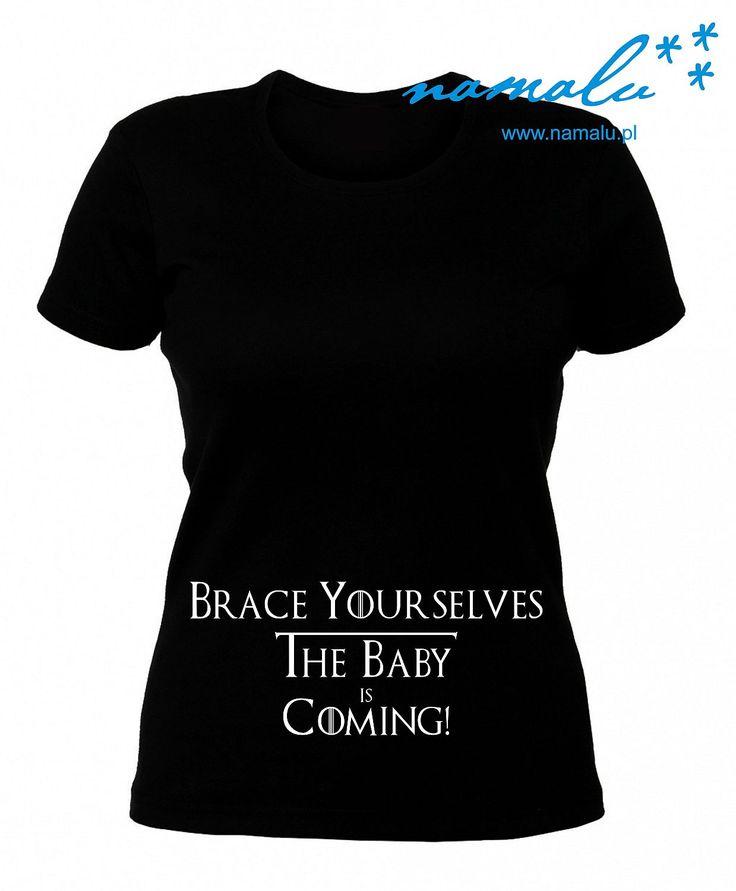 http://namalu.pl/ubrania-ciazowe/102-brace-yourselves-the-baby-is-coming.html  http://namalu.pl/ubrania-ciazowe/108-szkielecik-x-ray.html  T-shirt damski ciążowy ciąża pregnancy pregnant prezent śmieszny funny mama mother brace yourselves the baby is coming gra o tron game of thrones pieśń lodu i ognia martin beautiful ubranie koszulka nadruk print polish polska firma dobre bo polskie