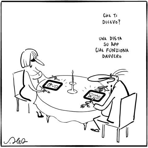 #vignetta #dieta #JoshuaHeld #sketch #diet