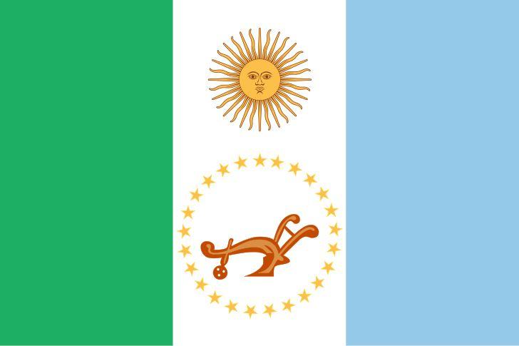 Bandera de la Provincia del Chaco - Bandeiras das subdivisões da Argentina – Wikipédia, a enciclopédia livre