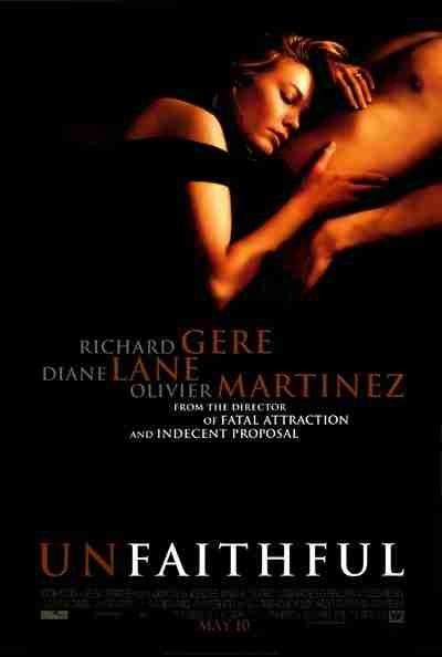 Unfaithful: great hot movie.  Diane Lane plain Jane actress really steams up the screen  For women any way You feel it