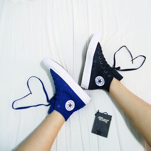 converse chuck 2 xanh navy