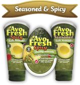 AvoFresh: Seasoned and spicy range
