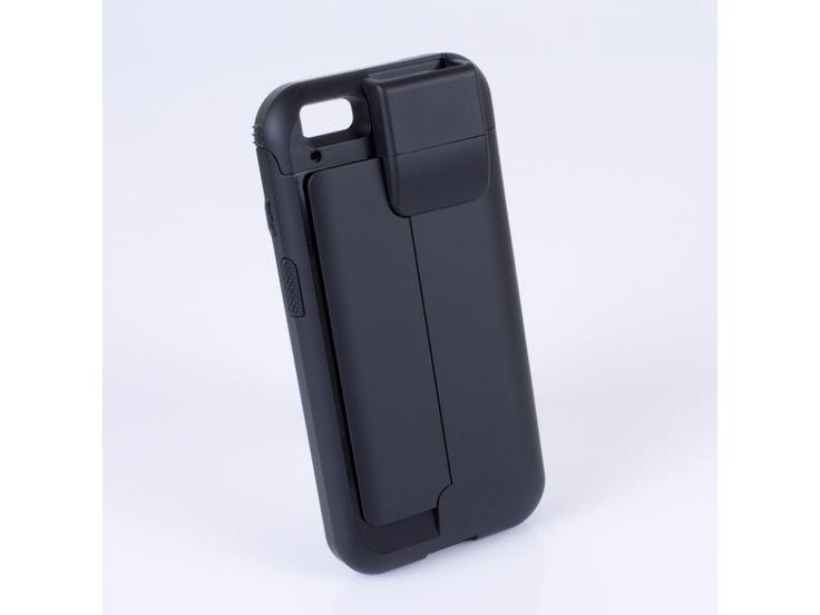 Linea Pro 6 pentru iPhone cu scanner 1D. LineaPro 6 permite magazinelor sa isi echipeze oamenii de vanzari fie cu iPhone sau iPod, echipamente care pot deveni astfel puncte de vanzare mobile, putandu-se realiza tranzactii oriunde in magazin.
