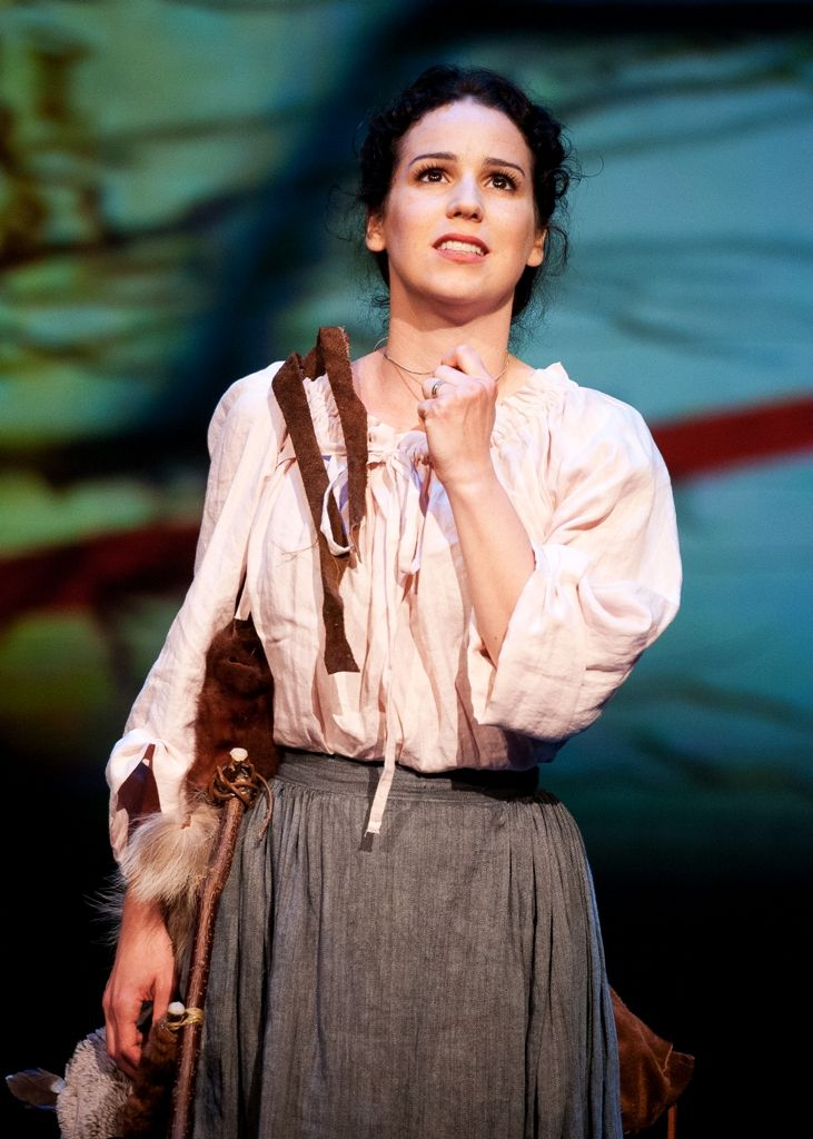 Chilina Kennedy as the beautiful Evangeline Bellefontaine