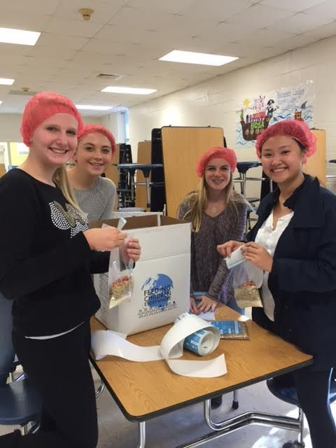 Laney's Chick-Fil-A Leader Academy joined nationwide effort to pack 1 million meals for Feeding Children Everywhere