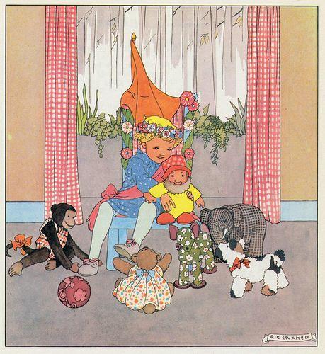 Rie Cramer Het jaar rond editie 1978 ill   verjaardag