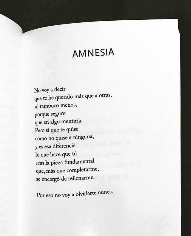 Amnesia Miguel Gane Frases De Palabras Citas De Libros