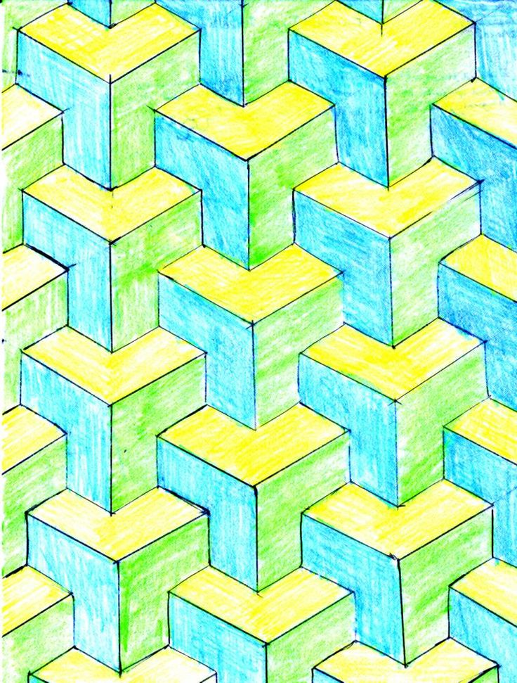 Image detail for -... mathematician m c escher created tessellations by translating rotating