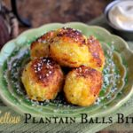 This Easy Yellow Plantain Bites Recipe is so tasty and so good, perfect for a quick snack or as part of your dinner.