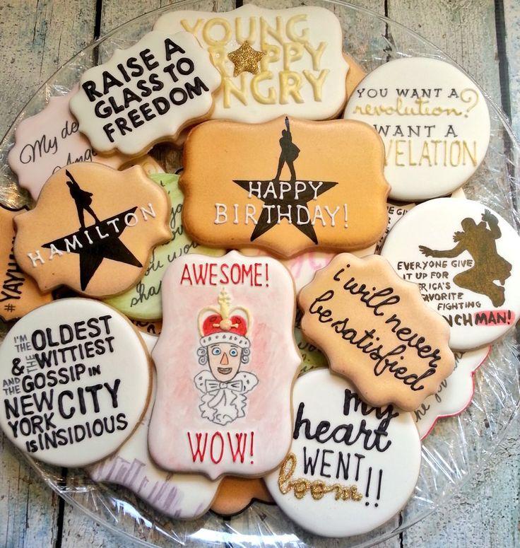 "Lin-Manuel Miranda on Twitter: ""Company management bought us Pulitzer Pies... Jen Lombardo made cookies!!!"