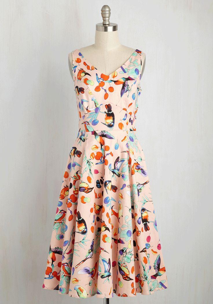 Chirp the Light Fantastic Dress, @ModCloth