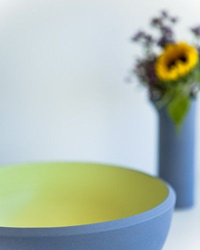 Store | Six By Eight | Makers | Large serving bowl - lavender/butter