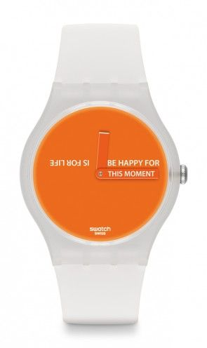THIS MOMENT...Love the orange...such a happy watch.