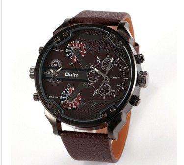 Pánské moderní hodinky OULM hnědé – pánské hodinky Na tento produkt se vztahuje nejen zajímavá sleva, ale také poštovné zdarma! Využij této výhodné nabídky a ušetři na poštovném, stejně jako to udělalo již velké množství …