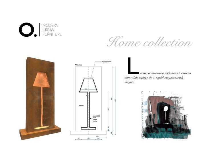 Outdoor lamp from our Home collection.