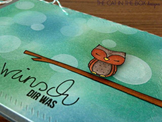 Bokeh Owl feat. Mama Elephant for more infos visit http://thecatintheboxdesigns.blogspot.de/