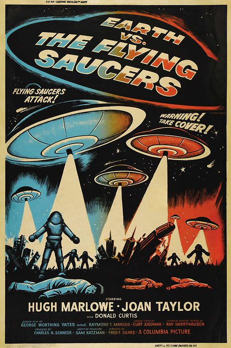 14 best Classic 1950s sci-fi/horror movie posters images ...
