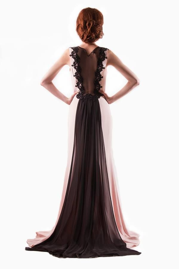 Elegant Chiffon Evening dress. Find it on: www.27dressez.com