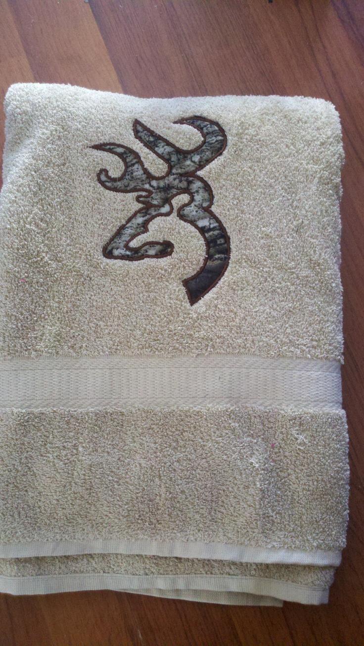 Mossy+oak+browning+towel+by+bbsmonogramming+on+Etsy,+$20.00